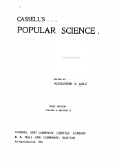 Cassell's Popular Science: Volume 2, Part 2