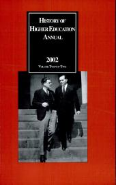 History of Higher Education Annual 2002