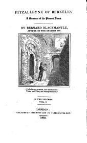 Fitzalleyne of Berkeley, a romance, by Bernard Blackmantle