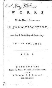 The works of ... dr John Tillotson
