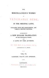 The complete works of Venerable Bede: Scientific tracts and appendix