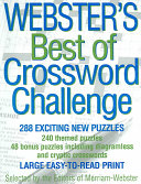 Webster s Best Of Crossword Challenge PDF