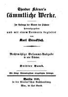 S  mmtliche Werke  Im auftrage der Mutter des Dichters herausgegeben PDF