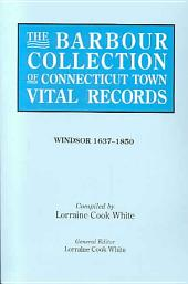 The Barbour Collection of Connecticut Town Vital Records: Volume 55