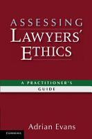 Assessing Lawyers  Ethics PDF