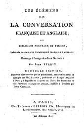 Les Élémens de la Conversation française et anglaise