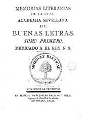 Memorias litararias, 1