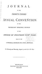 Journal of the Proceedings of the ... Annual Convention of the Protestant Episcopal Church in the Diocese of Western New York: Volumes 33-37