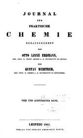 Journal für praktische Chemie: Band 84