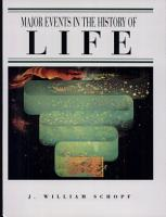 Major Events in the History of Life PDF
