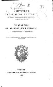 Aristotle's Treatise on Rhetoric