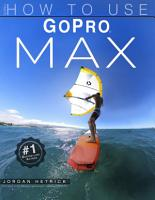 GoPro MAX  How To Use GoPro Max PDF