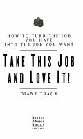 Take this Job and Love it PDF