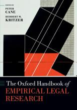 The Oxford Handbook of Empirical Legal Research PDF