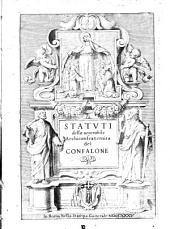Statuti della uenerabile Archiconfraternita del Confalone