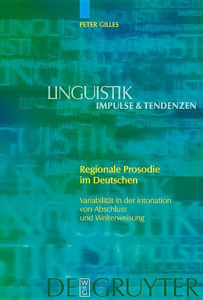 Regionale Prosodie im Deutschen PDF