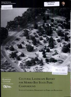 Cultural Landscape Report for Morro Bay State Park Campground PDF