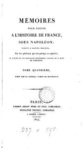 Mémoires pour servir à l'histoire de France, sous Napoléon, écrits à Sainte-Hélène [at the emperor's dictation]. (Mélanges historiques) par le comte de Montholon