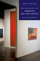 The Oxford Dictionary of American Art and Artists PDF
