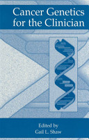 Cancer Genetics for the Clinician PDF