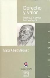 Derecho y valor: Una filosofía jurídica fenomenológica