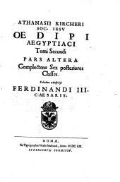 Oedipus Aegyptiacus hoc est Universalis Hieroglyphicae Veterum doctrinae temporum inuria abolitae instauratio: Volume 3