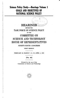 Goals and Objectives of National Science Policy PDF
