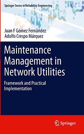 Maintenance Management in Network Utilities PDF