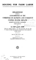 Hearings  Reports and Prints of the Senate Committee on Banking and Currency PDF