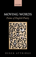 Moving Words  Forms of English Poetry PDF
