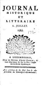 Journal historique et littéraire: Volume172