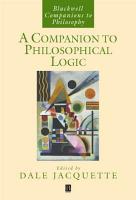 A Companion to Philosophical Logic PDF