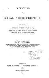 A manual of naval architecture