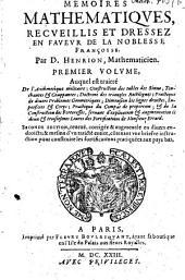 Mémoires mathématiques, recueillis et dressez en faveur de la noblesse françoise