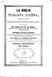 La Biblia vulgata latina: Volúmenes 1-2