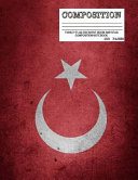 Turkey Flag Crescent Moon and Star Composition Notebook