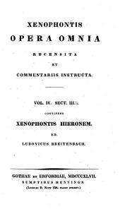 Xenophontis opera omnia: Τόμος 4,Τεύχος 3