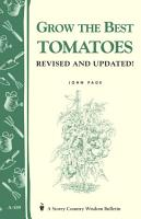 Grow the Best Tomatoes PDF