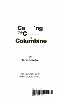 Carrying the Cross to Columbine PDF