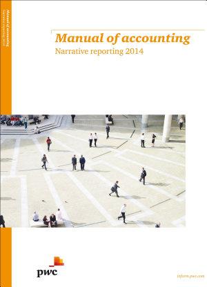 Manual of Accounting Narrative Reporting 2014