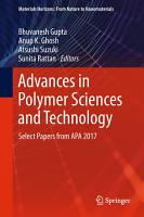 Advances in Polymer Sciences and Technology PDF