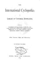 International Cyclopaedia PDF