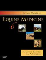Current Therapy in Equine Medicine PDF