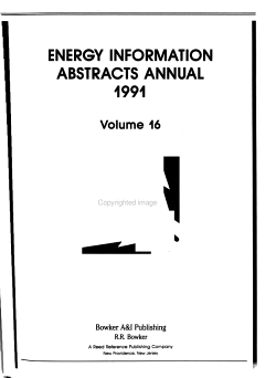 Energy Information Abstracts PDF
