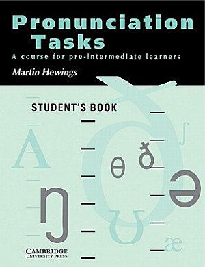 Pronunciation Tasks Student s Book PDF