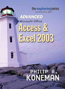 Advanced Microsoft Office Access and Excel 2003 PDF