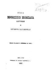 Sulla Esposizione Bresciana lettere, etc. (Estratte dal giornale Il Crepuscolo, etc.).