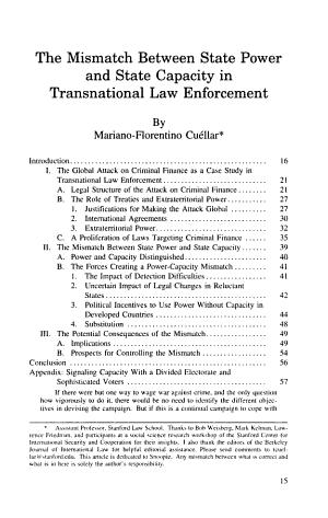 Berkeley Journal of International Law