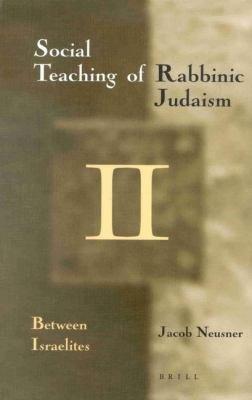The social teaching of Rabbinic Judaism PDF