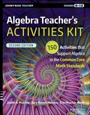 Algebra Teacher s Activities Kit PDF